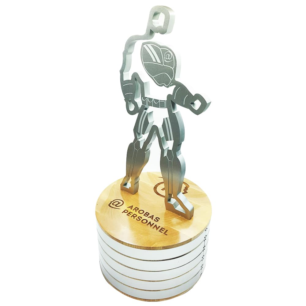 """The """"Arobas Personnel"""" perpetual trophy"""